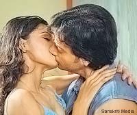 Sherlyn chopra kissing videos